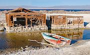 Salton Sea Landscape Stock Photo