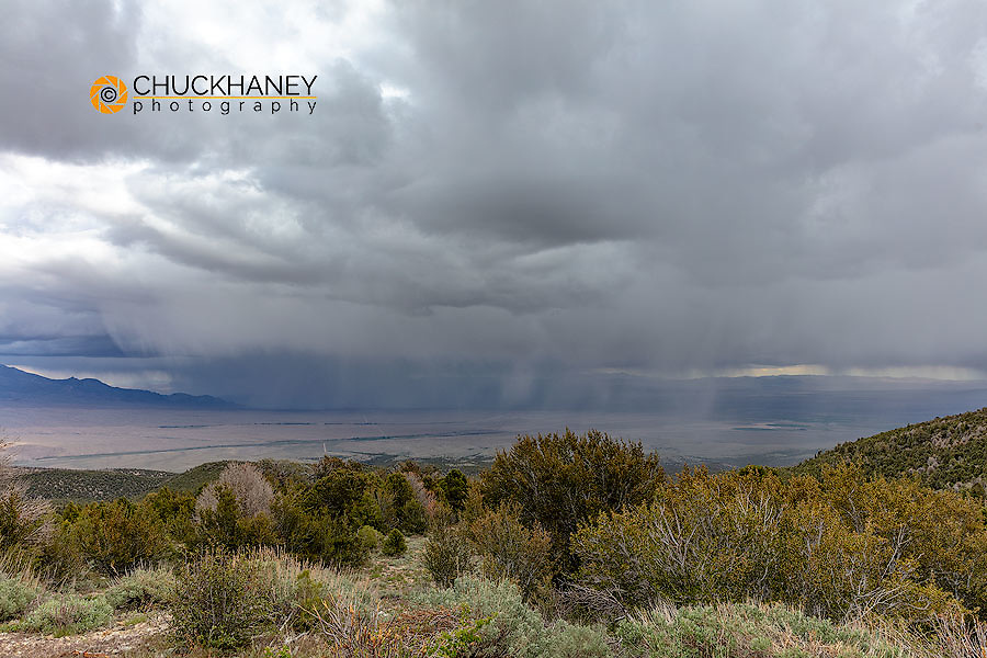 Stormy weather in Great Basin National Park, Nevada, USA MR