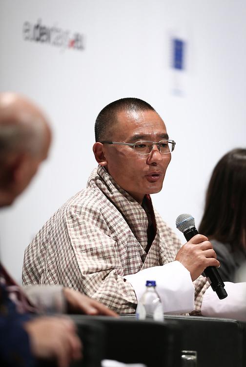 04 June 2015 - Belgium - Brussels - European Development Days - EDD - Climate - A climate change agreement - Towards Paris and beyond - Tshering Tobgay , Prime Minister of the Kingdom of Bhutan © European Union