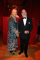 TRH PRINCE & PRINCESS MICHAEL OF KENT at a dinner held at the Natural History Museum to celebrate the re-opening of their store at 175-177 New Bond Street, London on 17th October 2007.<br /><br />NON EXCLUSIVE - WORLD RIGHTS