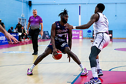 Eric Lockett of Bristol Flyers - Rogan/JMP - 15/01/2021 - BASKETBALL - SGS Wise Arena - Bristol, England - Bristol Flyers v London Lions - BBL Championship.