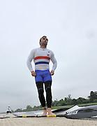 Eton, United Kingdom. Men's K1. Ed COX, 2012 GB Canoeing Training, Dorney Lake. Wednesday  02/05/2012  [Mandatory Credit; Peter Spurrier/Intersport-images]