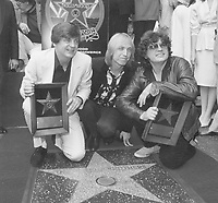 1986 The Everly Brothers Walk of Fame ceremony with Tom Petty