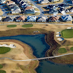 Aerial view of Villages And Nancy Lopez Golf Course for NPR