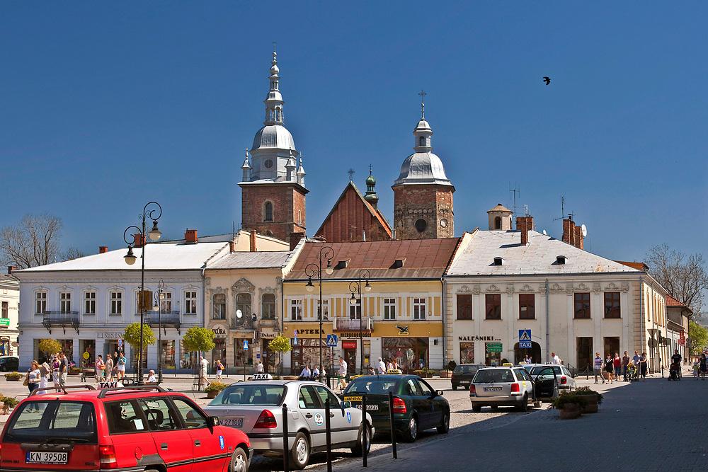 Rynek w Nowym Sączu, Polska<br /> Market square in Nowy Sącz, Poland