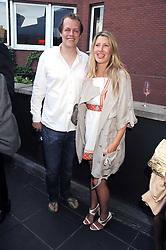 TOM & SARA PARKER-BOWLES at the Beat Summer party hosted by Luca del Bono at L'Atelier De Joel Robuchon, 13-15 West Street, Covent Garden, London on 1st July 2008.<br /><br />NON EXCLUSIVE - WORLD RIGHTS