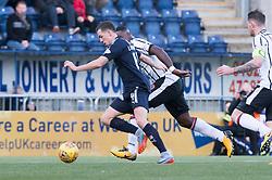 Falkirk's Louis Longridge. Falkirk 1 v 1 Dunfermline, Scottish Championship game played 4/5/2017 at The Falkirk Stadium.
