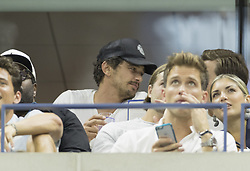 September 4, 2017 - New York, New York, United States - James Franco attends match between Roger Federer & Philipp Kohlschreiber of Germany at US Open Championships at Billie Jean King National Tennis Center  (Credit Image: © Lev Radin/Pacific Press via ZUMA Wire)