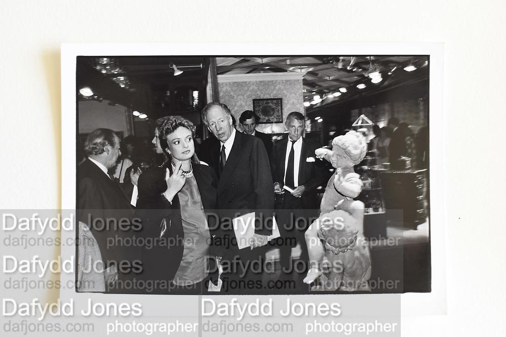 MRS. MICK FLICK; JACOB ROTHSCHILD; DUKE OF ROTHSCHILD, used Sept 88.