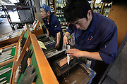 Tokyo, Tsukiji wholesale fish market knife sharpening and sale shop