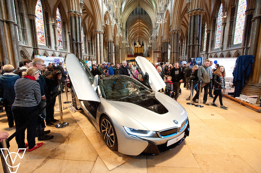 SPARK! Engineering Festival 2015 held at Lincoln Cathedral.<br /> <br /> Picture: Chris Vaughan/Chris Vaughan Photography<br /> Date: Sunday, April 19, 2015