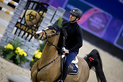 Guerdat Steve, SUI, Bianca<br /> Training session<br /> Longines FEI World Cup Jumping Final, Omaha 2017 <br /> © Hippo Foto - Jon Stroud<br /> 29/03/2017