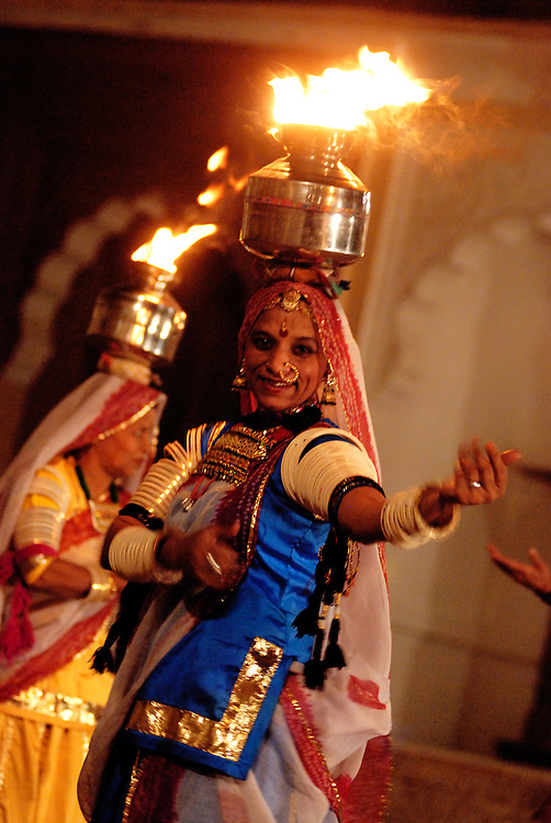 Performances at Mehrangarh Fort