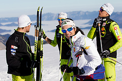 Eva Sever Rus during Training camp of Slovenian Cross country Ski team on October 23, 2012 in Dachstein Getscher, Austria. (Photo By Vid Ponikvar / Sportida)