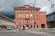 Building facade, Innsbruck, Austria
