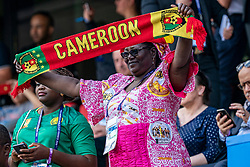 15-06-2019 FRA: Netherlands - Cameroon, Valenciennes<br /> FIFA Women's World Cup France group E match between Netherlands and Cameroon at Stade du Hainaut / Fan support Cameroon