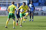 Norwich City midfielder Mario Vrancic (8)  controls during the EFL Sky Bet Championship match between Wycombe Wanderers and Norwich City at Adams Park, High Wycombe, England on 28 February 2021.