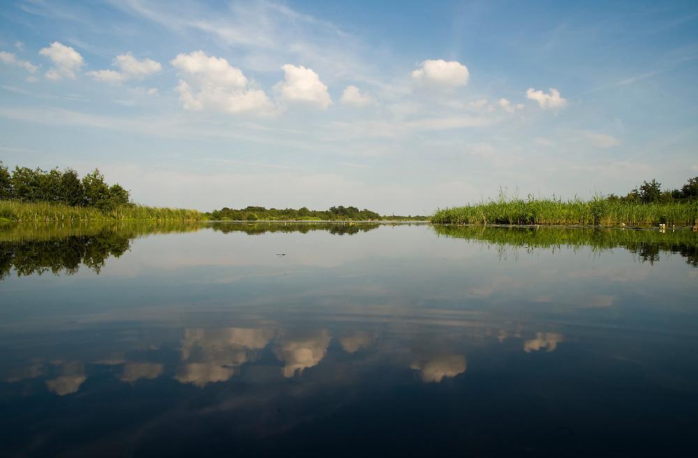 Nederland, Ankeveen, 6 aug  2008.Ankeveense plassen.  natuurgebied.  nature reserve.Foto (c) Michiel Wijnbergh