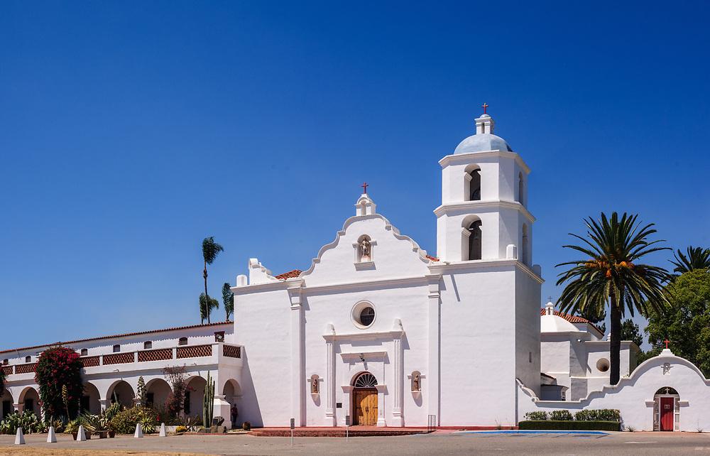 Oceanside, California, Mission San Luis Rey de Francia, also known as San Luis Rey Mission Church, King of the Missions, Largest of the 21 California Missions