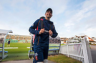 Alastair Cook of Essex ahead of the Specsavers County Champ Div 1 match between Somerset County Cricket Club and Essex County Cricket Club at the Cooper Associates County Ground, Taunton, United Kingdom on 23 September 2019.