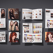 Part of an on going series of shots, showing some of the final printed work for an advertising clients portfolio.