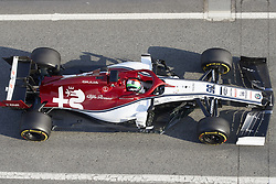 February 19, 2019 - Spain - Antonio Giovinazzi (Alfa Romeo Sauber F1 Team) seen in action during the winter test days at the Circuit de Catalunya in Montmelo  (Credit Image: © Fernando Pidal/SOPA Images via ZUMA Wire)