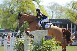 Meyer Janne Friederike, (GER), Goya 27<br /> Longines Global Champions Tour - Grand Prix of Hamburg<br /> Hamburg - Hamburger Derby 2016<br /> © Hippo Foto - Stefan Lafrentz