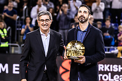 November 1, 2018 - Barcelona, Barcelona, Spain - Juan Carlos Navarro in actions during EuroLeague match between FC Barcelona Lassa and Maccabi Fox Tel Aviv  on November 01, 2018 at Palau Blaugrana, in Barcelona, Spain. (Credit Image: © AFP7 via ZUMA Wire)