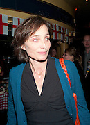 KRISTEN SCOTT THOMAS;  Press night for Jerusalem. Apollo Theatre. Shaftesbury ave. After party at the Cafe de Paris. London. 10 February 2010