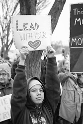 """""""Lead With Your Heart"""" Women's March on Washington, D.C."""