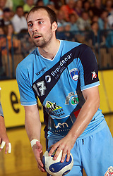 Vid Kavticnik of Slovenia at  handball game between men national teams of Slovenia and Slovakia, first qualification game for the World Chamionship 2009, on June 7, 2008, in Arena Zlatorog, Celje, Slovenija. Result: 33 : 33. (Photo by Vid Ponikvar / Sportal Images)
