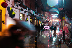 © Licensed to London News Pictures . 14/12/2019 . Manchester , UK . GV of the New Union pub on the corner of Princess Street and Canal Street on the edge of Manchester's Gay Village . Reynhard Sinaga has been convicted of over a hundred serious sexual assaults , including the rape of dozens of young men whom he lured to his flat from outside nightclubs in Manchester City Centre , making him one of the most prolific sex offenders ever to have been tried and convicted . Photo credit : Joel Goodman/LNP