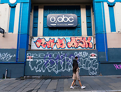 Exterior of closed and shut down O2 ABC on Sauchiehall Street, Glasgow, Scotland, UK
