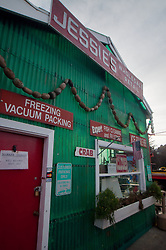 Jessie's Wholesale Retail Store at Jessie's Ilwaco Fish Co., Ilwaco, Washington, US