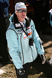 Coach of Slovenian team Matjaz Zupan at Flying Hill Individual in 4th day of 32nd World Cup Competition of FIS World Cup Ski Jumping Final in Planica, Slovenia, on March 22, 2009. (Photo by Vid Ponikvar / Sportida)