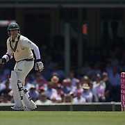 Salman Butt batting during the Australia V Pakistan 2nd Cricket Test match at the Sydney Cricket Ground, Sydney, Australia, 6 January 2010. Photo Tim Clayton