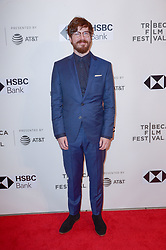 John Gallagher Jr attending the screening of the movie The Miseducation Of Cameron Post during the 2018 Tribeca Film Festival at BMCC Tribeca PAC in New York City, NY, USA on April 22, 2018. Photo by Julien Reynaud/APS-Medias/ABACAPRESS.COM