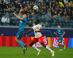 November 5, 2019, Saint-Petersburg, Russia: Russian Federation. Saint-Petersburg. Gazprom Arena. Football. UEFA Champions League. Group G. round 4. Football club Zenit - Football Club RB Leipzig. Player of Zenit football club Serdar Azmun, Deathsangel Pamakana (Credit Image: © Russian Look via ZUMA Wire)