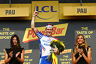 Podium, Hotess, miss, Arnaud Demare (FRA - Groupama - FDJ) winner, during the 105th Tour de France 2018, Stage 18, Trie sur Baise - Pau (172 km) on July 26th, 2018 - Photo Luca Bettini / BettiniPhoto / ProSportsImages / DPPI