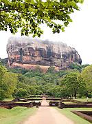 Sigiriya Rock, an ancient rock fortress and Unesco World Heritage Site, Sri Lanka