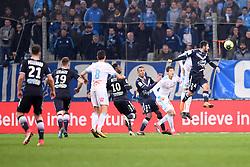 February 18, 2018 - Marseille, France - 02 HIROKI SAKAI (om) - 31 Jules KOUNDE (bor) - 24 Gaetan LABORDE  (Credit Image: © Panoramic via ZUMA Press)