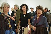 LADY ANNE LAMBTON; MOLLIE DENT-BROCKLEHURST; LADY AS, Calder After The War. Pace London. Burlington Gdns. London. 18 April 2013.