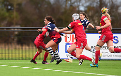 Daisie Mayes of Bristol Bears Women closes in on the white-wash to open Bristol's account - Mandatory by-line: Paul Knight/JMP - 01/12/2018 - RUGBY - Shaftesbury Park - Bristol, England - Bristol Bears Women v Harlequins Ladies - Tyrrells Premier 15s