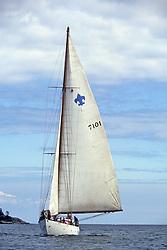 Sailboat On Puget Sound