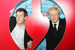 © under license to London News Pictures.  29/11/10 Body Shop's Chris Davis and Boris Johnson unveil the Body Shop 'Be An Activist. Join the Fight Against Aids' exhibition, featuring photography by Rankin to mark World AIDS day at City Hall. Photo credit should read: Olivia Harris/ London News Pictures