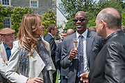 CAROL WEATHERALL; EDWIN MOSES; RON DENNIS, The Cartier Style et Luxe during the Goodwood Festivlal of Speed. Goodwood House. 1 July 2012.
