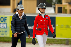 Meier Fiona, (SUI)<br /> Class 16 Nations Cup YR<br /> International Competition CSIO Young Riders Opglabbeek 2016<br /> © Dirk Caremans