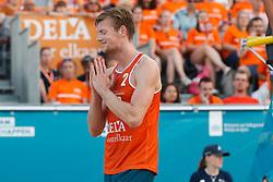 20180716 NED: CEV DELA Beach Volleyball European Championship day 2<br />Jannes van der Ham<br />©2018-FotoHoogendoorn.nl
