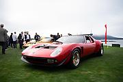August 15, 2019:  Pebble Beach Concours, Lamborghini Miura