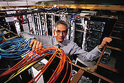 Micro Technology: University of California, Berkeley: Computer room in Soda Hall. Professor Randy H. Katz. Randy Katz is a Professor of Electrical Engineering and Computer Science at the University of California, Berkeley. He was instrumental in the development of the RAID concept for computer storage.. Model Released. [2000]